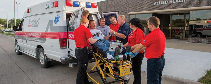 student paramedic program